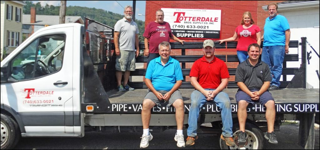Staff of Totterdale Bros Supply
