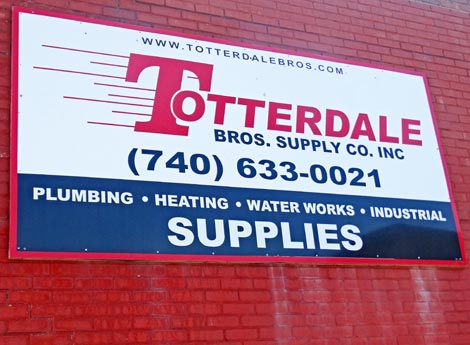 Totterdale Bros Business Sign